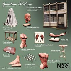 N4RS Garden Atelier Gacha