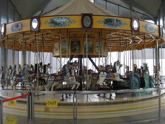 The 1892 Armitage-Herschell Carousel - Geelong Waterfront Esplanade