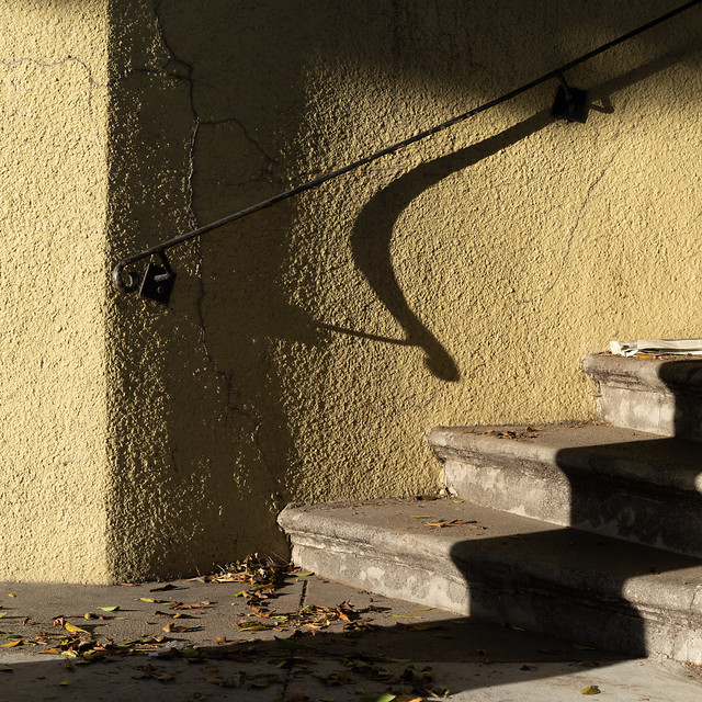 stairs and handrail