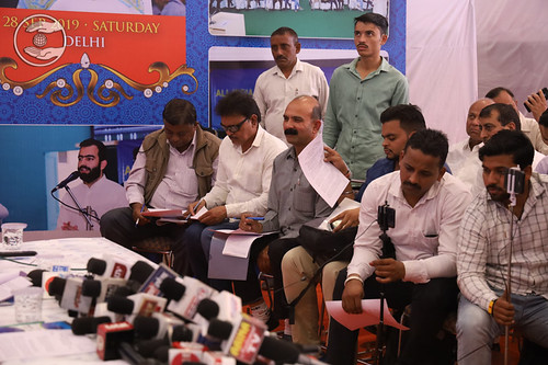 A view of Press Conference