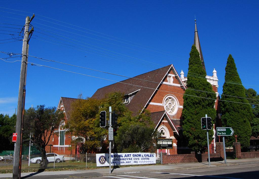 Presbyterian Church, Drummoyne, Sydney, NSW.
