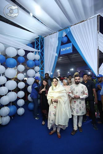 Satguru Mata Ji inaugurated the SNCF Exhibition