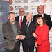 Peter Warden Jimmy Armfield Lifetime Achievement Award Winner with Duncan and John Armfield, Steve and Cheryl Danson from Sponsors Banks Wealth
