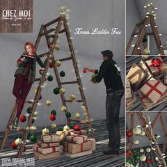 Xmas Ladder Tree CHEZ MOI