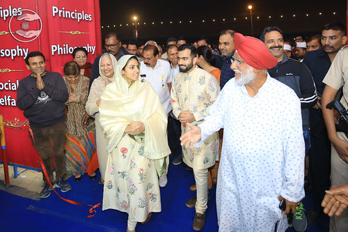 Her Holiness inaugurated Nirankari Exhibition