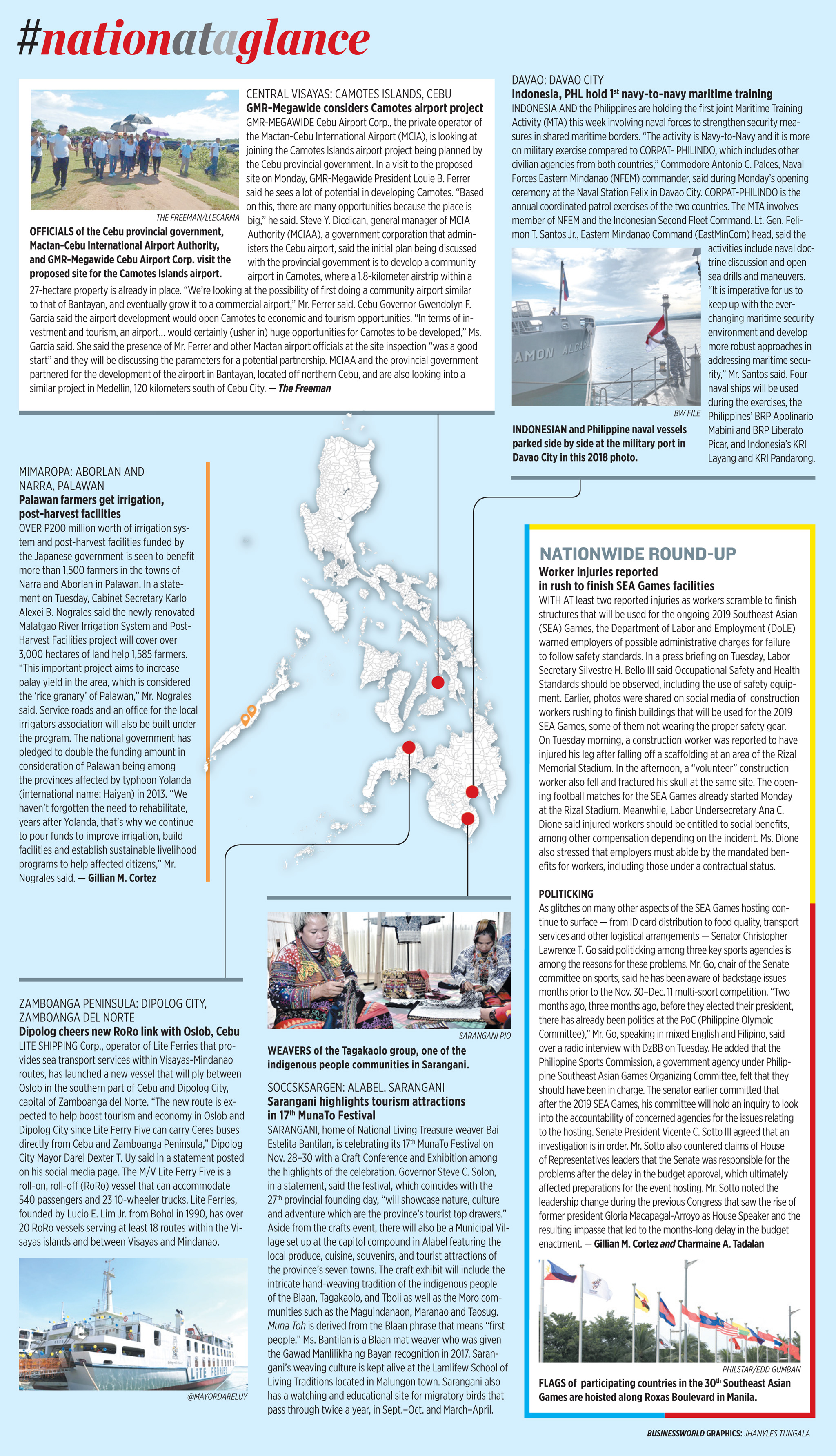 Nation at a Glance — (11/27/19)