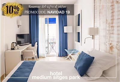 Dto. 10% en Rvas 24/12/19-6/1/20 Hotel Medium Park
