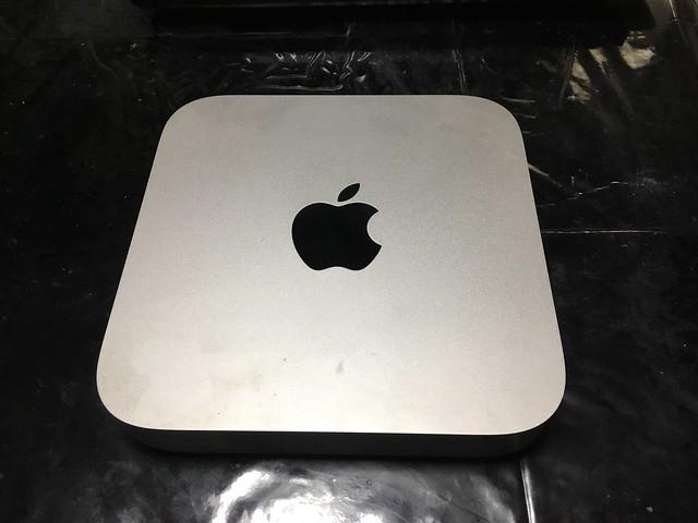 Mac Mini 2012 最後のオペ!w
