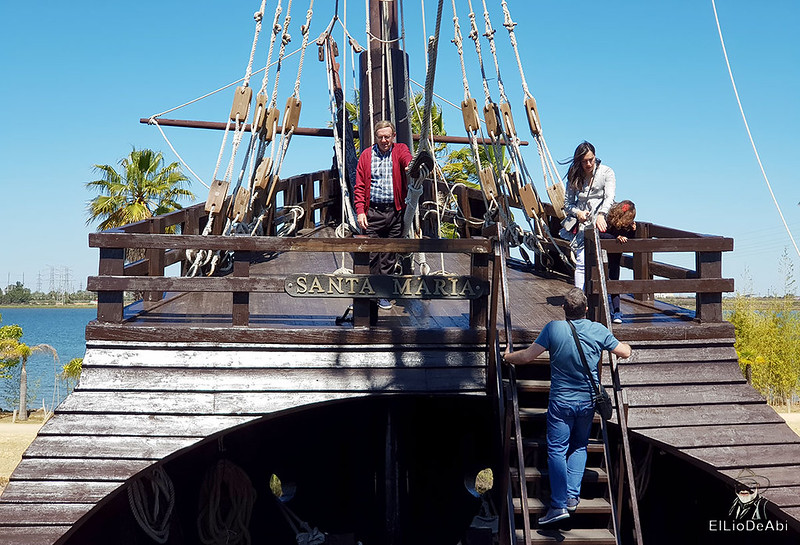 Que ver en el Muelle de las Carabelas en Palos de la Frontera  (7)