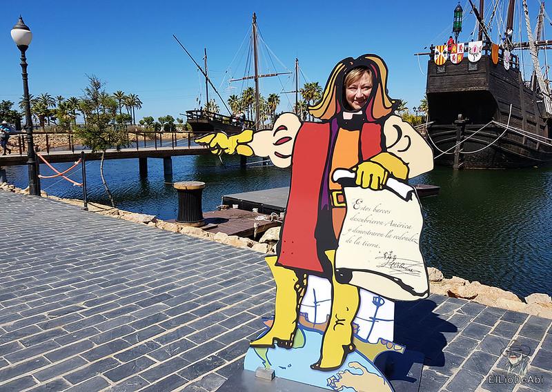 Que ver en el Muelle de las Carabelas en Palos de la Frontera  (4)
