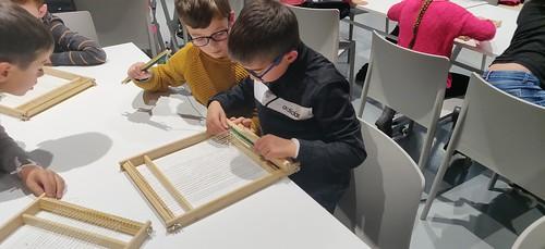 Sortie musée de l'industrie textile CE2 A Nov 19