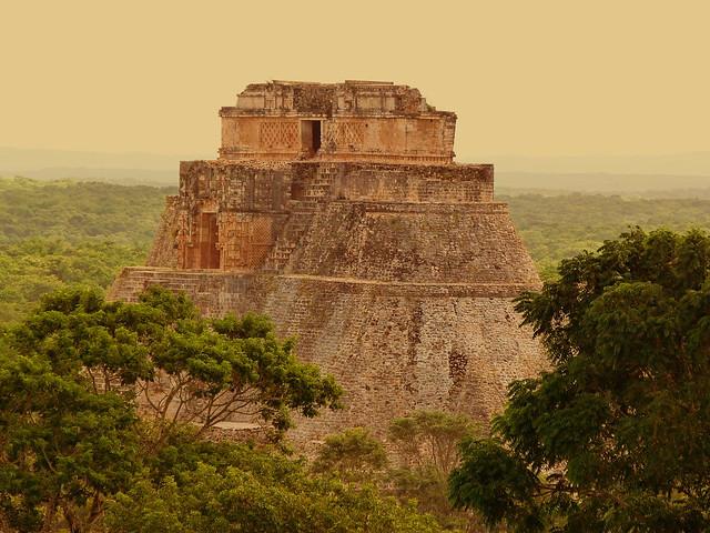 Uxmal, una de las ruinas mayas más importantes en el Estado de Yucatán (México)