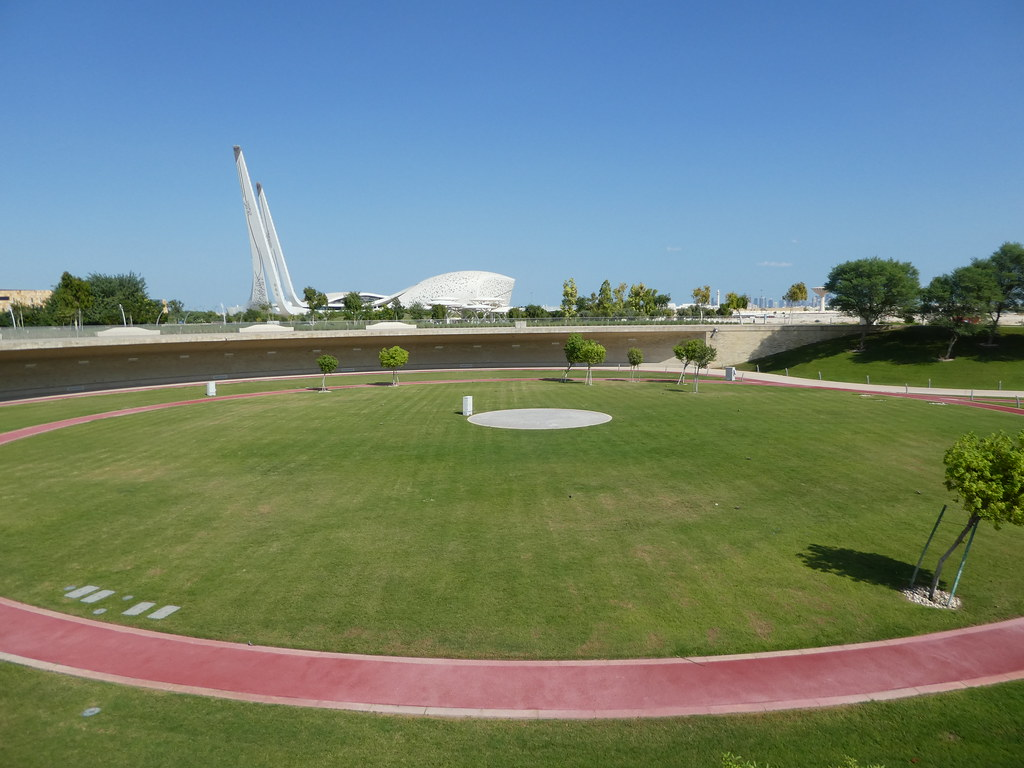 Education City sports track for students, Doha