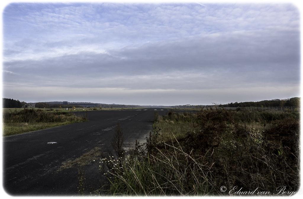 Runway 09-27, former airforce base Soesterberg - Holland.