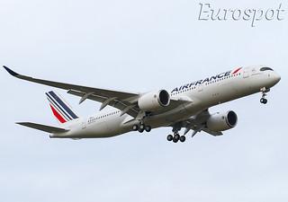 F-WZGO Airbus A350 Air France