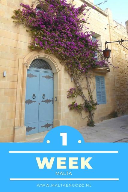 Een week Malta | Tips voor 1 week op Malta