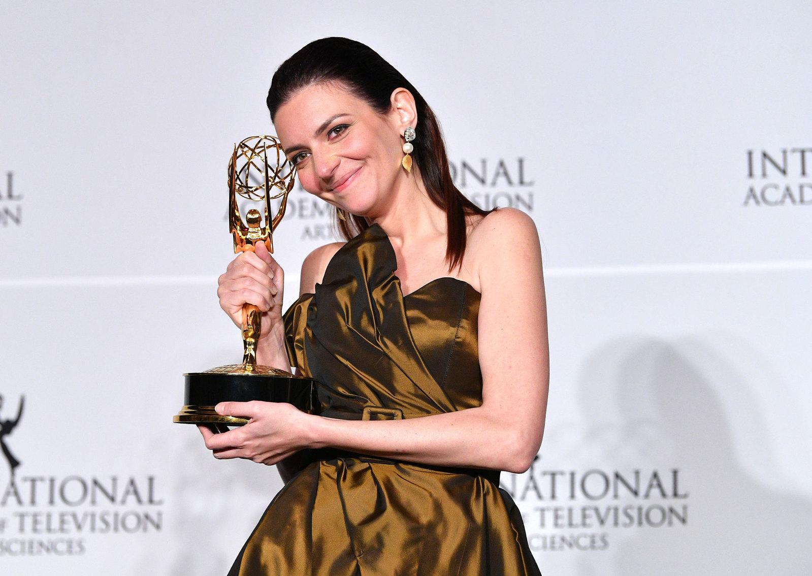Gera Marina szegediként kapott Emmy-díjat