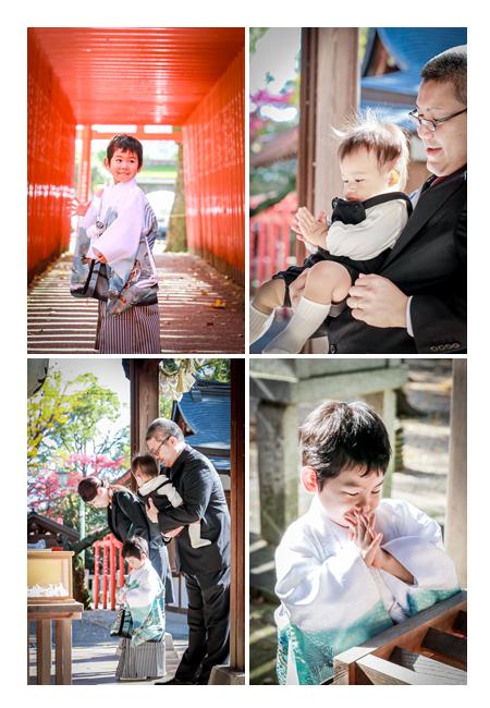 七五三 愛知県瀬戸市の深川神社へお参り