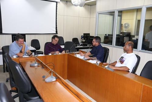 Reunião com convidados para ouvirrepresentantes da SLU e representantes dos sindicatos que representam as categorias ligadas à SLU - Comissão Especial de Estudo