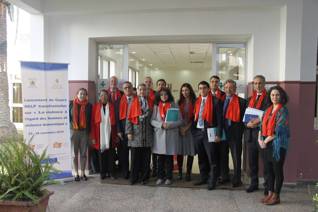 Launch of the cross-border HELP course on violence against women