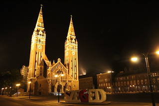 Downtown Szeged by night | by Timon91