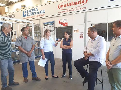 Visita técnica para analisar a viabilidade de proibição de parada e estacionamento de veículos na Rua Desembargador Reis Alves, próximo ao número 304 - Comissão de Desenvolvimento Econômico, Transporte e Sistema Viário