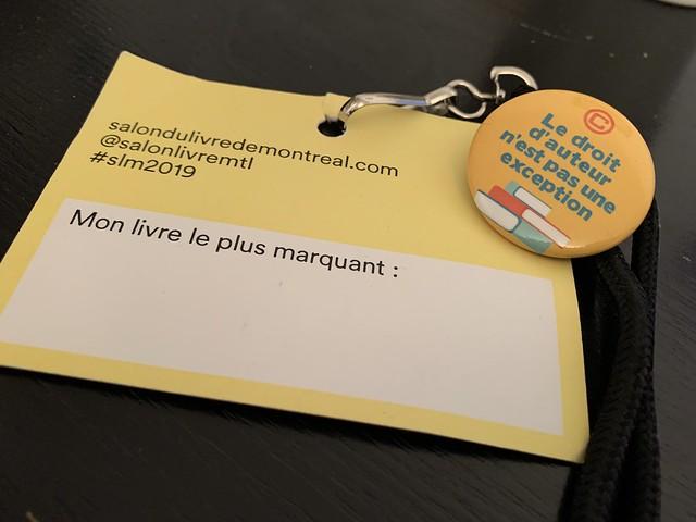 Droit d'auteur Québec