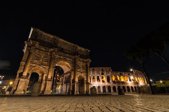 Arco De Constantino + Coliseo