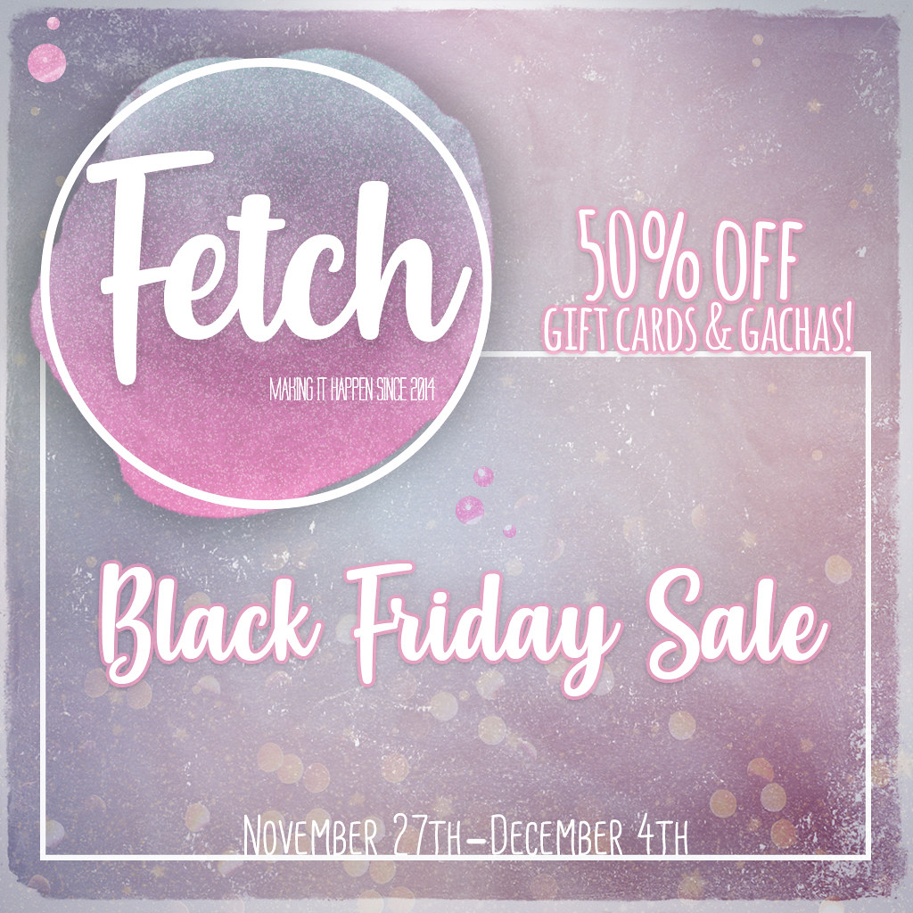 [Fetch] Black Friday 2019!
