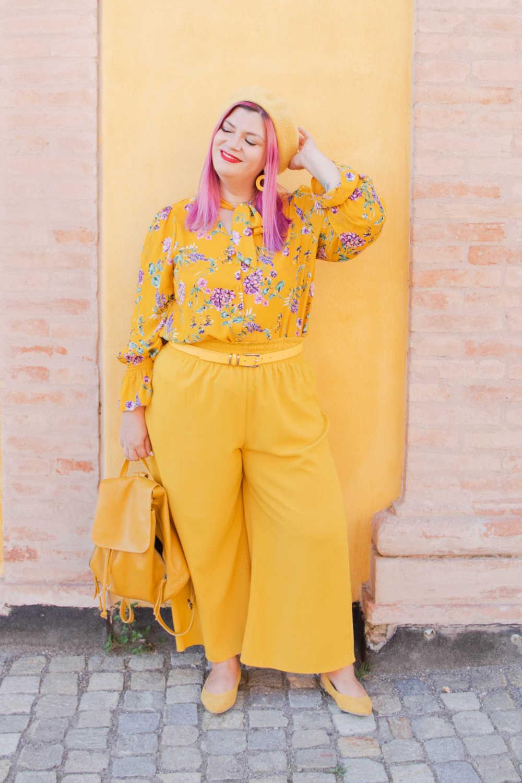 CurvyColorChallenge come indossare il giallo (8)