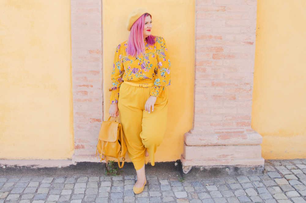 CurvyColorChallenge come indossare il giallo (7)
