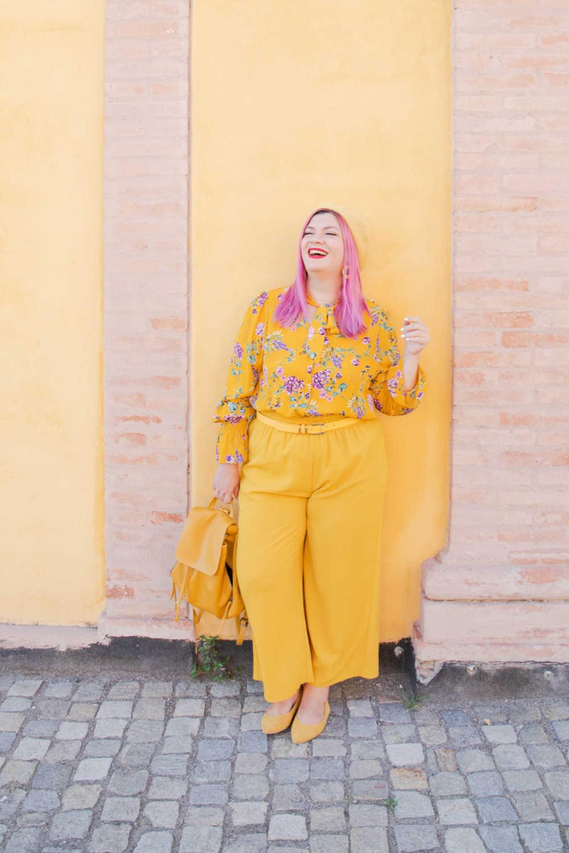 CurvyColorChallenge come indossare il giallo (6)