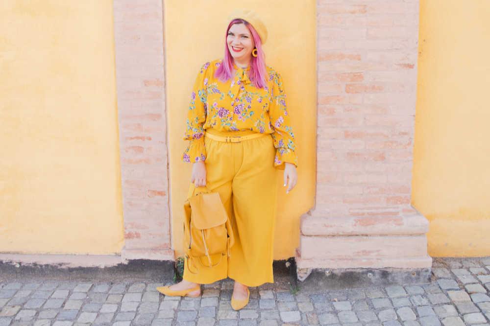 CurvyColorChallenge come indossare il giallo (3)