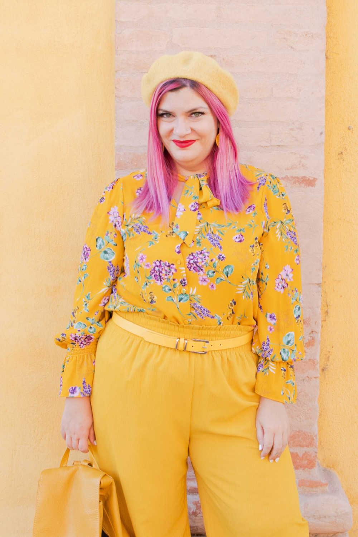 CurvyColorChallenge come indossare il giallo (2)