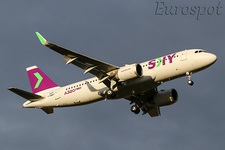 F-WWBV Airbus A320 Neo SKY
