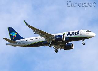 F-WWDQ Airbus A320 Neo Azul