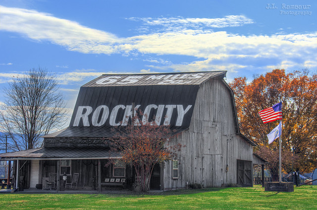 65 Miles ta Rock City barn - Pikeville, Tennessee