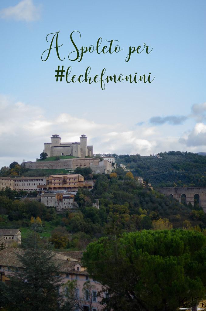 A Spoleto per l'evento #lechefmonini