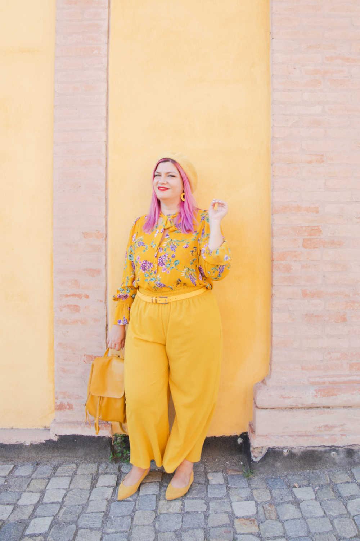 CurvyColorChallenge come indossare il giallo (5)