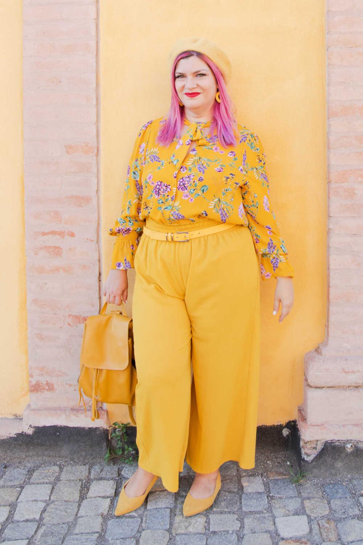 CurvyColorChallenge come indossare il giallo (4)