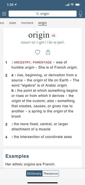 originの1ページ目