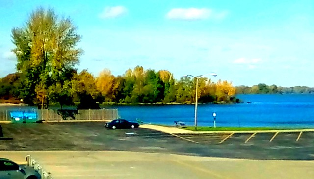 Autumn at the marina! Menominee Michigan