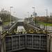 Sluis op het kanaal Bossuit-Kortrijk