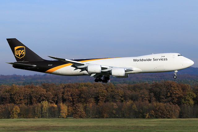 United Parcel Service (UPS)  Boeing 747-8(F) N614UP