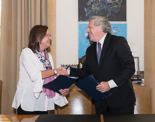 OAS and El Salvador Sign Agreement to Advance the Creation, Objectives and Competencies of CICIES