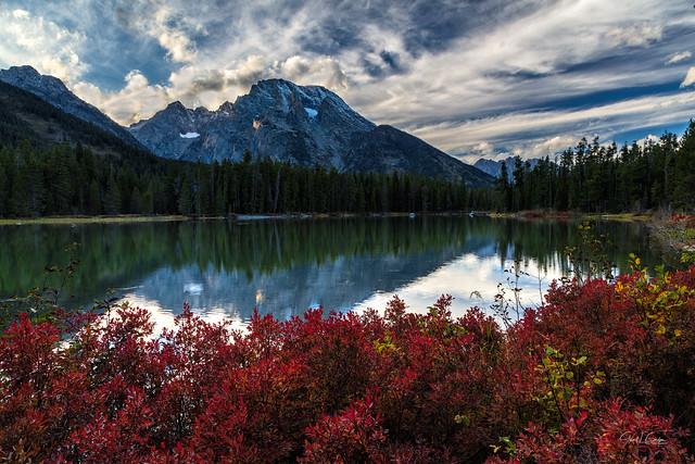 Mt. Moran From String Lake