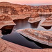 Reflection Canyon Late Sunset