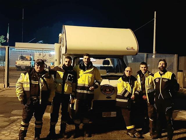 volontari protezione civile gioiesi
