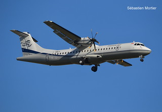 ATR.72-600 TRAVIRA AIR F-WWEH 1597 TO PK-TVE 26 11 19 TLS