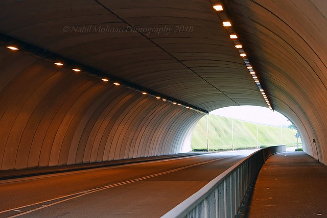 Tunnel at Heathrow Airport